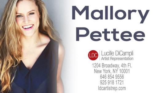 Dance Reel - Mallory Pettee